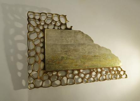 Janine's-hole-riddled-walnut frame